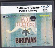 Birdman by Mo Hayder (2012, CD, Unabridged) A Jack Caffery Thriller, Book 1