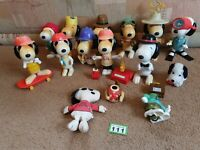 41 pcs collector rare vintage 1996 large Peanuts Snoopy Mcdonalds toys Japan