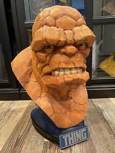 Sideshow Collectibles Thing 1:1 Life Size Bust Statue Fantastic Four
