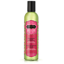 Kama Sutra Naturals Massage Oil 8oz - Strawberry Divine