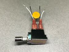 Pats Audio On/Off Power Switch 4 Wire Pre-wired for Philips 212 or 312 Turntable