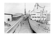 CASTEL FELICE Migrant ship at Fremantle 1962 modern digital Photo Postcard