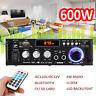 600W 110V HIFI Audio Stereo Power LCD Amplifier bluetooth FM Radio 2CH Car Home