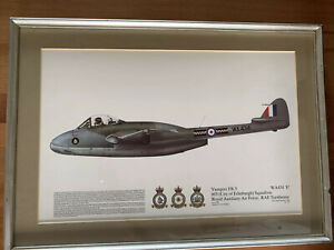 Vampier FB .5 603 (city Of Edinburgh) Squadron Framed Print Dugald Cameron