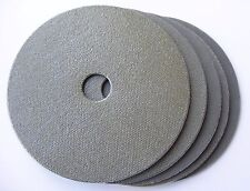 "5"" Electroplated Diamond Polishing Pad Set (5 pcs), Hook and Loop Backed"