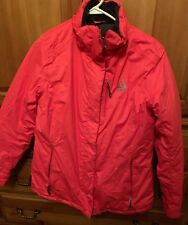 Gerry Women's Hooded Snow Jacket Pink Winter Snowboarding Ski Women's Large.