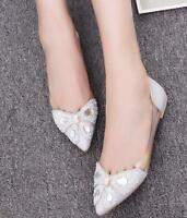 Women Rhinestones Transparent Boat Shoes Glitter Flats Pointed Toe  Party Casual
