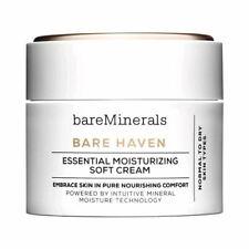 NEW bareMinerals Bare Haven Essential Moisturising Soft Cream 50g Moisturiser