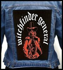 WITCHFINDER GENERAL  --- Giant Backpatch Back Patch