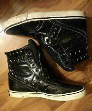 Public Royalty Hi Top Shoes Size 7.5