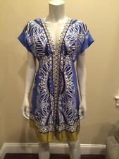 Banana Republic Kimono Printed Silk Dress SMALL 2 4 New With Tags $110