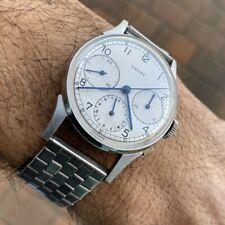 Vintage Gallet Chronograph Wristwatch with Valjoux 72 & vintage bracelet - RARE
