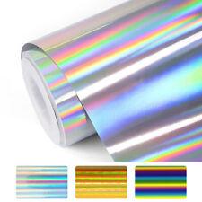 Metallic Foil Spectrum Heat Transfer Vinyl Rainbow Film HTV Iron On T-Shirt