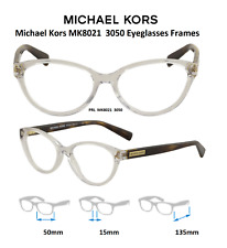 ef2294c9962b5 Michael Kors Mk8021 3050 50mm Mitzi Women s Clear Crystal Frame Eyeglasses