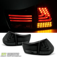 Blk Smoked 04-06 Lexus RX330 07-09 RX350 Philips Lumileds LED Tail Lights Brake