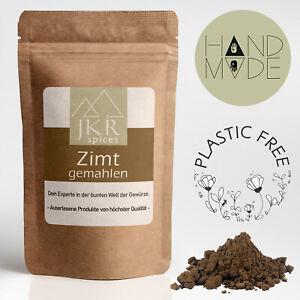 1000g ZIMT | gemahlen | Cassia | Zimtrinde Cinnamon | Plastikfrei | JKR Spices