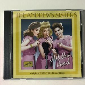 The Andrews Sisters Hit The Road CD DISC MINT Album Songs