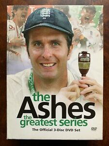 The Ashes 2005 DVD Box Set World Championship Cricket Greatest Series 3 Discs