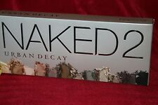 URBAN DECAY NAKED 2 EYESHADOW EYE SHADOW PALETTE BRUSH 12 SHADES BOXED AUTHENTIC