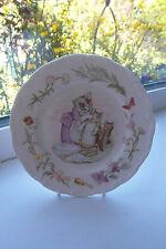 Royal Albert Tom Kitten Side Plate Beatrix Potter Teatime Collection 1986 White