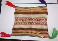 Peruvian Hand woven Despacho Table Cloth - Andean Mountain Textile