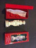 2000 Madison Ave Fred Atkins Porcelain Musical Nutcracker Christmas Ornament