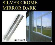 "20""x100 Feet' Window Film  Mirror 90% Heat Reduccion  Intersolar®  5% Dark"