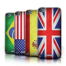 Stuff4 Hülle/Case/Backcover für Apple iPod Touch 5/Flagge