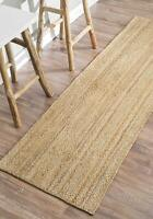 Indian Braided Floor Rug Handmade Jute Rug,Natural Jute Home Floor Rug Runner