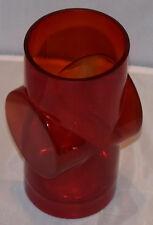 Riihimäen Lasi Oy glass Vase Pablo 1389 Erkkitapio Siiroinen 70s Vintage