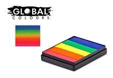 Global Colours Paint - Rainbow Cake Neon Rainbow 50gr