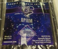 THE DIPPER DOUBLE STENGTH 19 INCH INCENSE OPIUM 25 STICKS 3+ HOURS