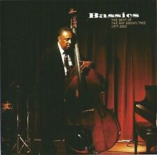 The Ray Brown Trio Bassics Best of 1977-2000 2 CD Set Telarc Concord Jazz 2006
