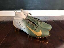 Nike Vapor Untouchable Pro 3 Football Cleats Size 15 Mens Gold Green 917165-007