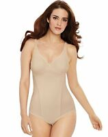 Bali Woman's Nude Passion For Comfort Firm Control Bodysuit, Size 42C