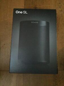 Sonos One SL - Black - Brand New Sealed