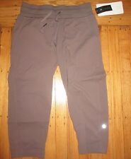 "Lululemon Studio Crop II Pants SZ 4 *Unlined *20"" COOL COCOA new"