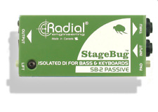 Radial SB-2 StageBug passive DI for bass & keyboards, BEST OFFER R002
