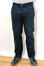 JECKERSON Blue JEANS SLIM Fit  STRETCH PATCHES W33 L28 MADE IN ITALY SUPER