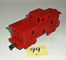 VINTAGE 1960's Marx SOUTHERN PACIFIC RED CABOOSE O Scale 99