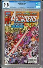Avengers #v3 #20 #435 CGC 9.8 White Black Panther Alkhema Ultron Grim Reaper