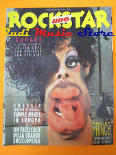 rivista ROCKSTAR 82/1987 Prince Julian Cope Tom Veltraine Tom Robinson No cd (*)