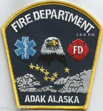 "NAVY - Naval Air Facility, Adak, Alaska  (4"" x 4"" size) fire patch"