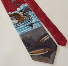 Duck & Fish Tie By Reed St. James