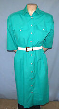 Petrina & Company Belted Shirtwaist Dress Size 4 Perfect For Career/Church Side-