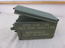 Us Army mg cinturón recuadro/caja de munición cal.30 Browning m1919 reproducción signed
