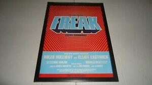 FREAK AT FAC 51 THE HACIENDA-1997 framed original advert