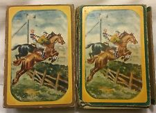 Steeplechase Nouvelle Pinochle Two Decks of Playing Cards