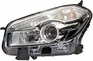 HELLA Headlight Passenger Side 1LL 010 335-071 fits Nissan Dualis 2.0 (J10,JJ...
