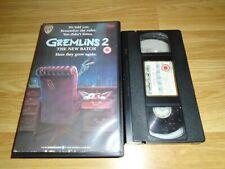 GREMLINS 2 THE NEW BATCH -  - WARNER HOME VIDEO  - VHS - EX RENTAL - BIG BOX -